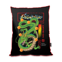 SHENRON SATIN THROW PILLOW