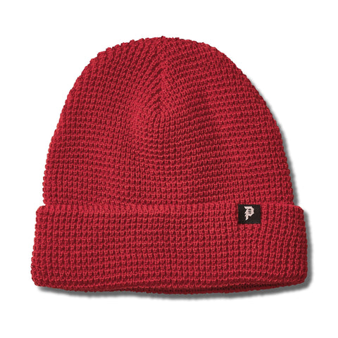 DIRTY P WAFFLE TWO-FER BEANIE