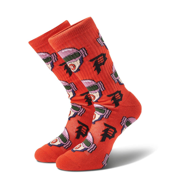 GWEN ALLOVER CREW SOCKS