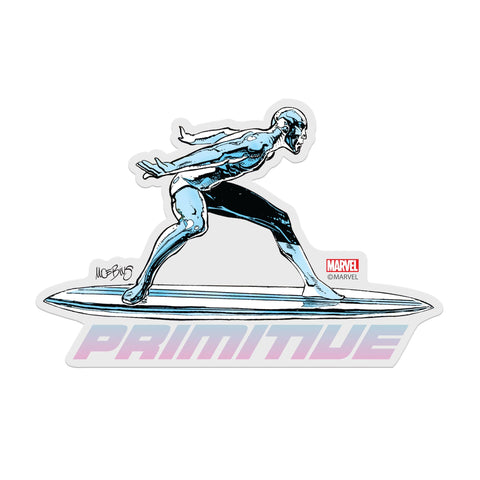 MOEBIUS SILVER SURFER STICKER