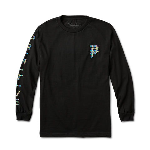 DIRTY P MOODS HOLOGRAM FOIL L/S
