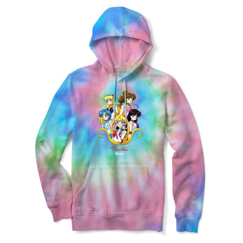 SAILOR MOON TIE DYE HOOD