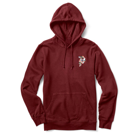 WOMEN'S DIRTY P GLITCH HOOD