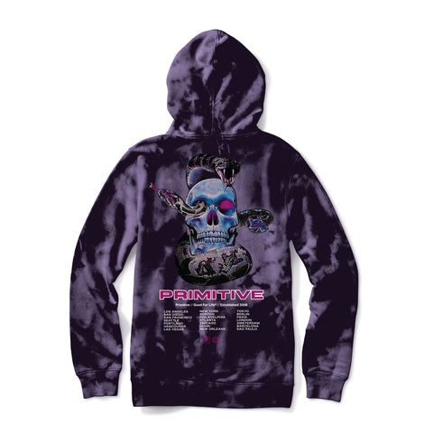 WORLD TOUR TIE-DYE HOOD