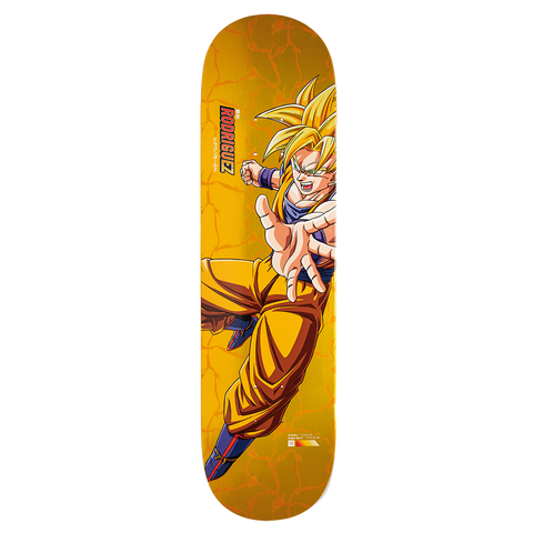 Paul Rodriguez Super Saiyan Goku Deck - 8.0