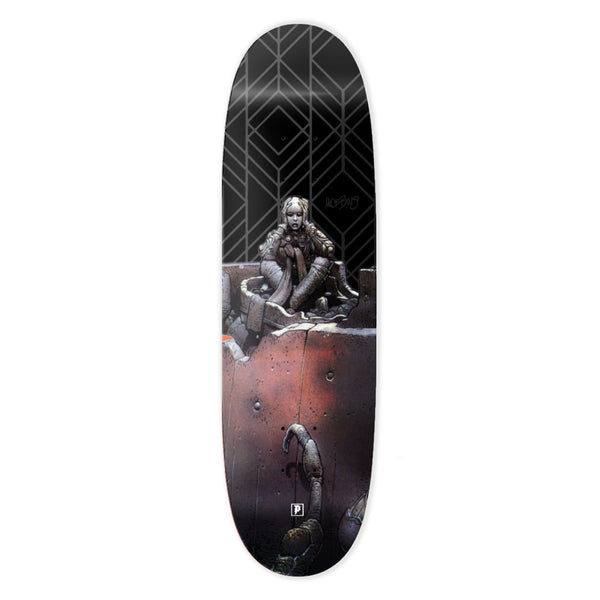PRIMITIVE ANXIETY MAN DECK - 9.125