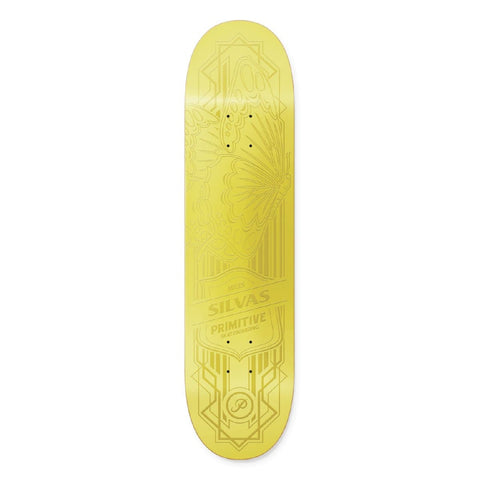 MILES SILVAS GOLD BUTTERFLY DECK - 8.25