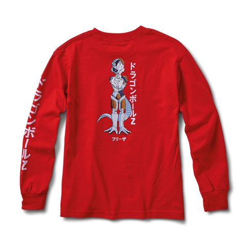 FRIEZA MECHA YOUNG MENS LS TEE