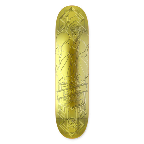 TIAGO LEMOS GORILLA RAISED GOLD FOIL DECK - 8.38