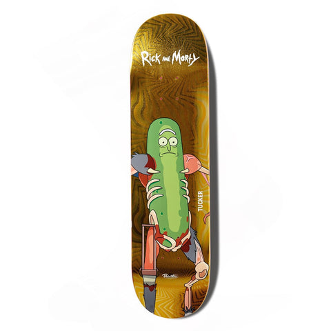 NICK TUCKER PICKLE RICK DECK - 8.0