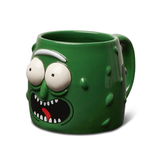 PICKLE RICK MOLDED MUG