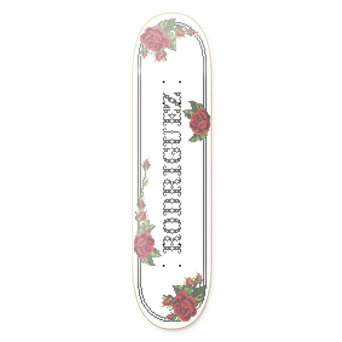 PAUL RODRIGUEZ CROSS STITCH DECK - 8.0 & 8.25