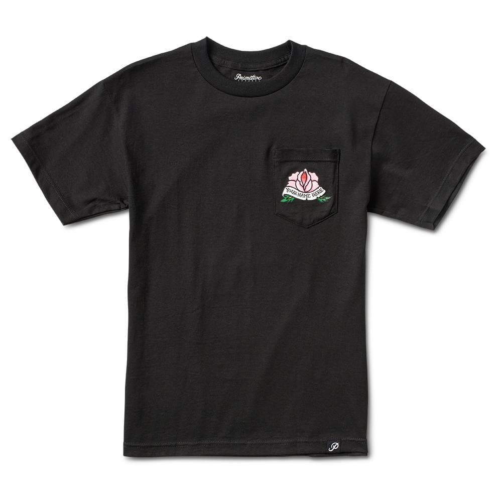 ROSEY POCKET TEE