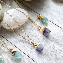 Load image into Gallery viewer, Fiona Fluorite Necklace