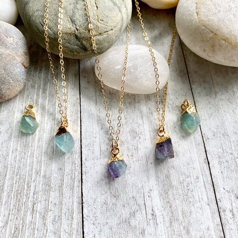 Fiona Fluorite Necklace