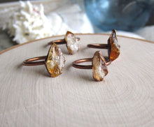 Load image into Gallery viewer, Citronelle Citrine Ring