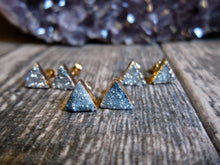 Load image into Gallery viewer, Pythagoras Druzy Studs