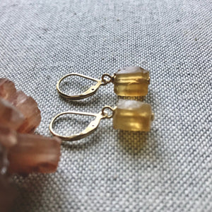 Carmen Citrine Dangle Earrings