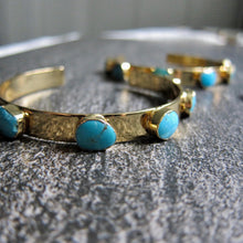 Load image into Gallery viewer, Tabitha Turquoise Cuff