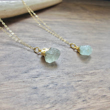 Load image into Gallery viewer, Artemisia Aquamarine Necklace
