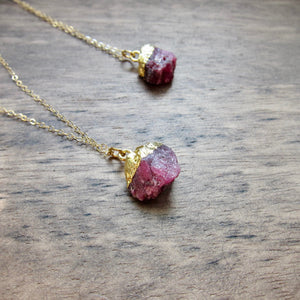 Rani Ruby Necklace