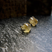 Load image into Gallery viewer, Chakra-La Citrine Studs