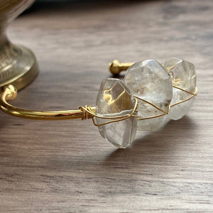 Quixotic Quartz Bangle