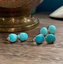 Load image into Gallery viewer, Terra Turquoise Studs