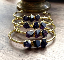 Load image into Gallery viewer, The Athena Amethyst Bangle