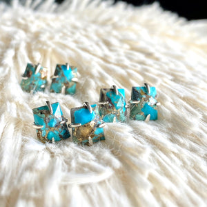 Tecolote Turquoise Studs