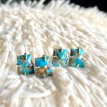 Load image into Gallery viewer, Tecolote Turquoise Studs