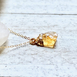 Carmella Citrine Necklace