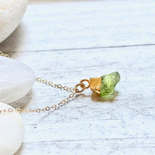 Load image into Gallery viewer, Proserpine Peridot Necklace