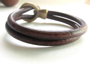 Brown Halo Bracelet
