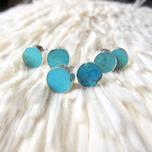 Load image into Gallery viewer, Tarzana Turquoise Studs