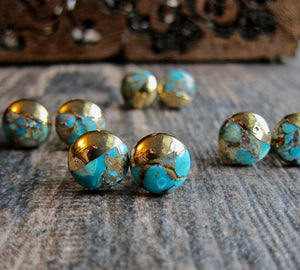 Totally Turquoise Studs