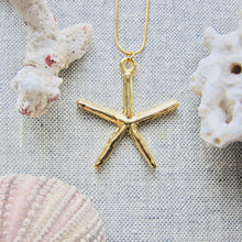 Load image into Gallery viewer, Sea Star Pendant Necklace
