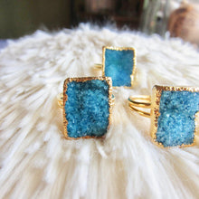 Load image into Gallery viewer, Paramor Druzy Ring