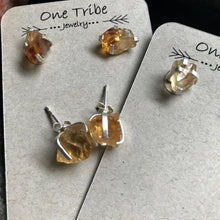 Load image into Gallery viewer, Clementine Citrine Studs