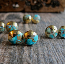 Load image into Gallery viewer, Totally Turquoise Studs