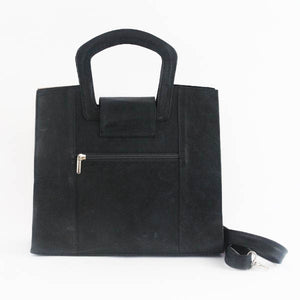 Contemporary Leather Bag Blue 2 - C&B Craft Corp