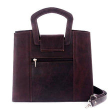 Load image into Gallery viewer, Contemporary Leather Bag Purpure - C&B Craft Corp