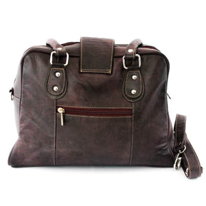 Bowler Design Handbag Purpure - C&B Craft Corp