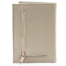 Load image into Gallery viewer, Passport Plane Leather Wallet Beige - C&B Craft Corp