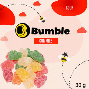 Candy - Sour assorted fruit Gummi bears