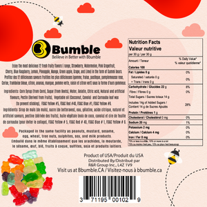 Candy - 12 Fruit Gummi bears