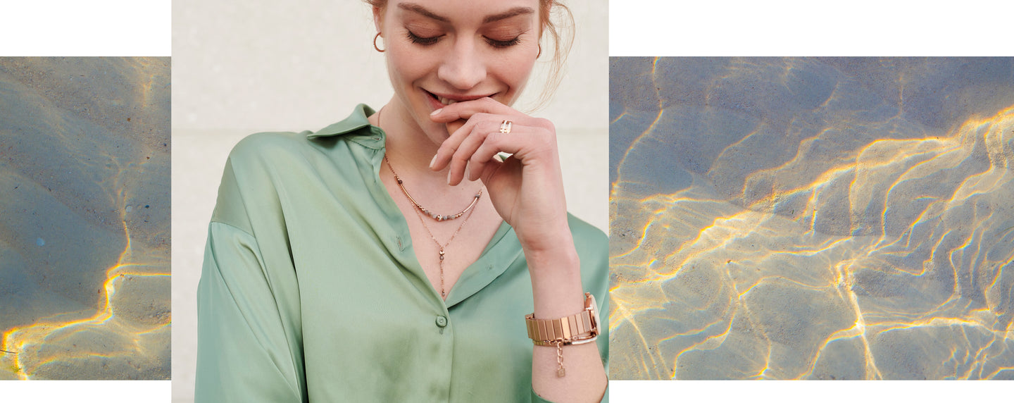 Styling Trend Long Necklace Watch