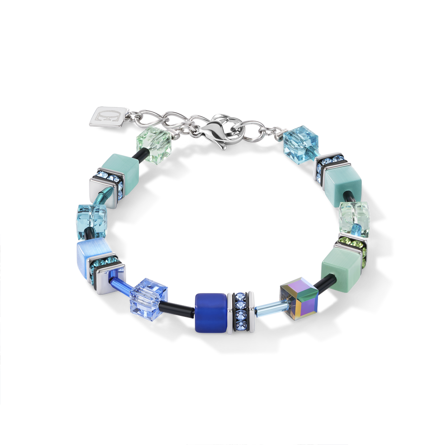 GeoCUBE® Bracelet blue-green