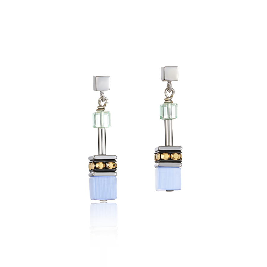 GeoCUBE® Earrings multicolour gentle