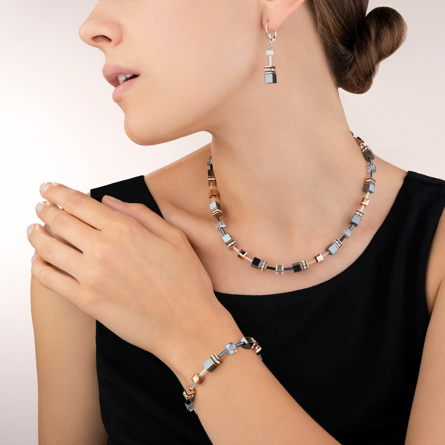 GeoCUBE® Necklace ice blue
